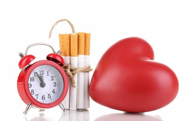 تاثیر سیگار روی ریه ها